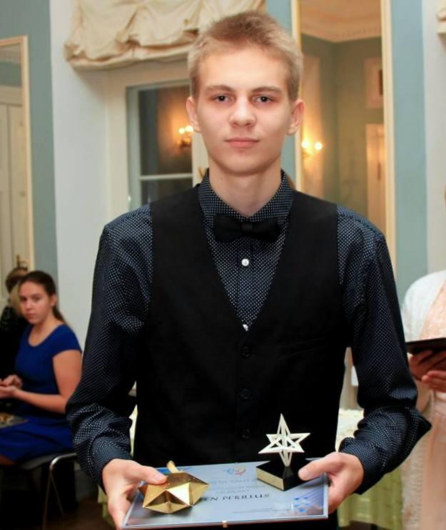 Järvamaa Aasta noor tegija on Sten Perillus 9.klassist