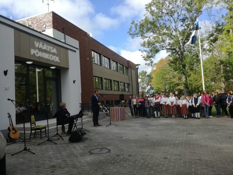 Avati Väätsa Põhikooli energiatark koolimaja