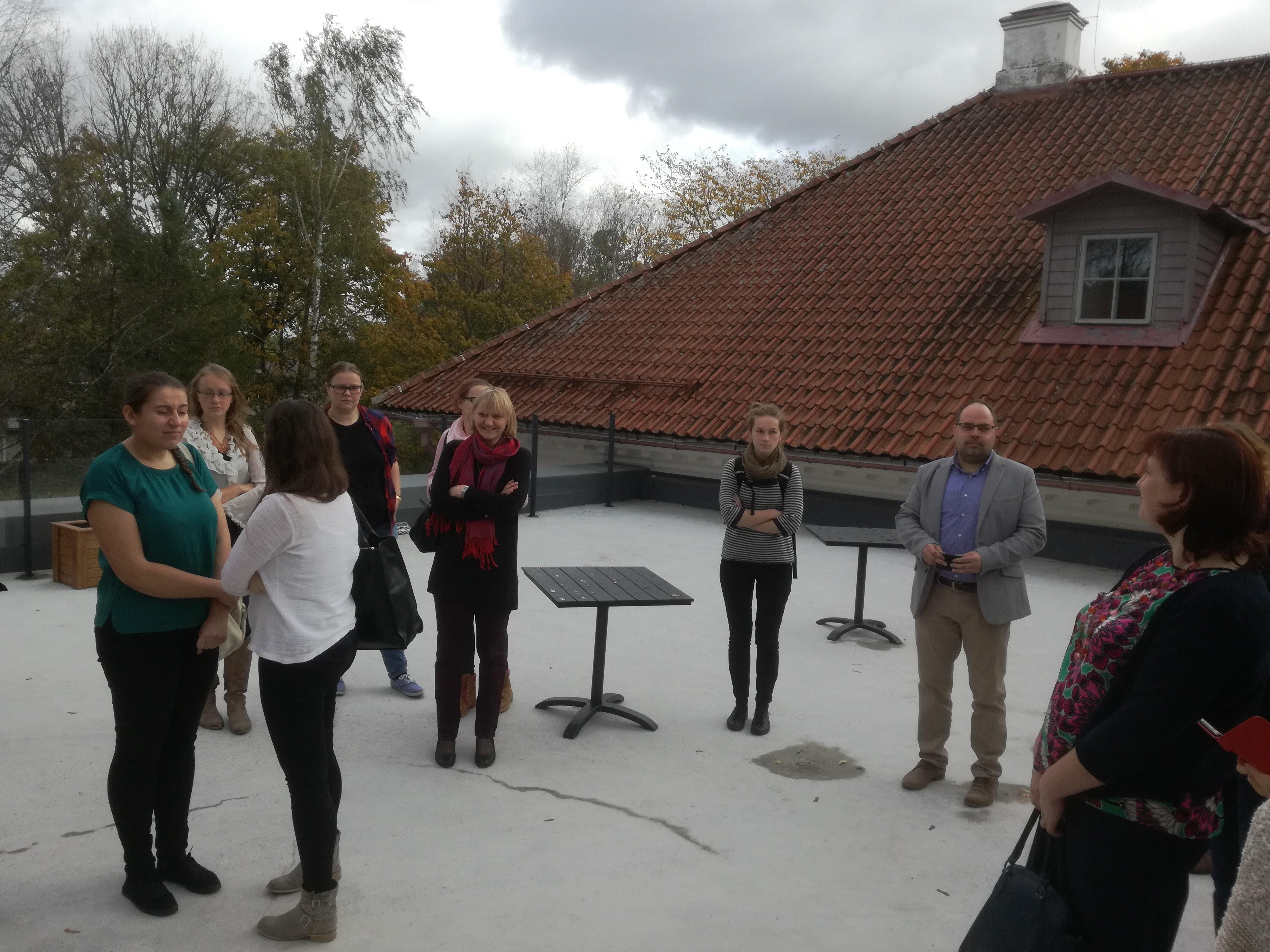 Väätsa Põhikooli külastas Tartu Ülikool