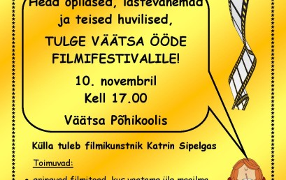 VÖFF – Väätsa Ööde FilmiFestival tuleb taas!