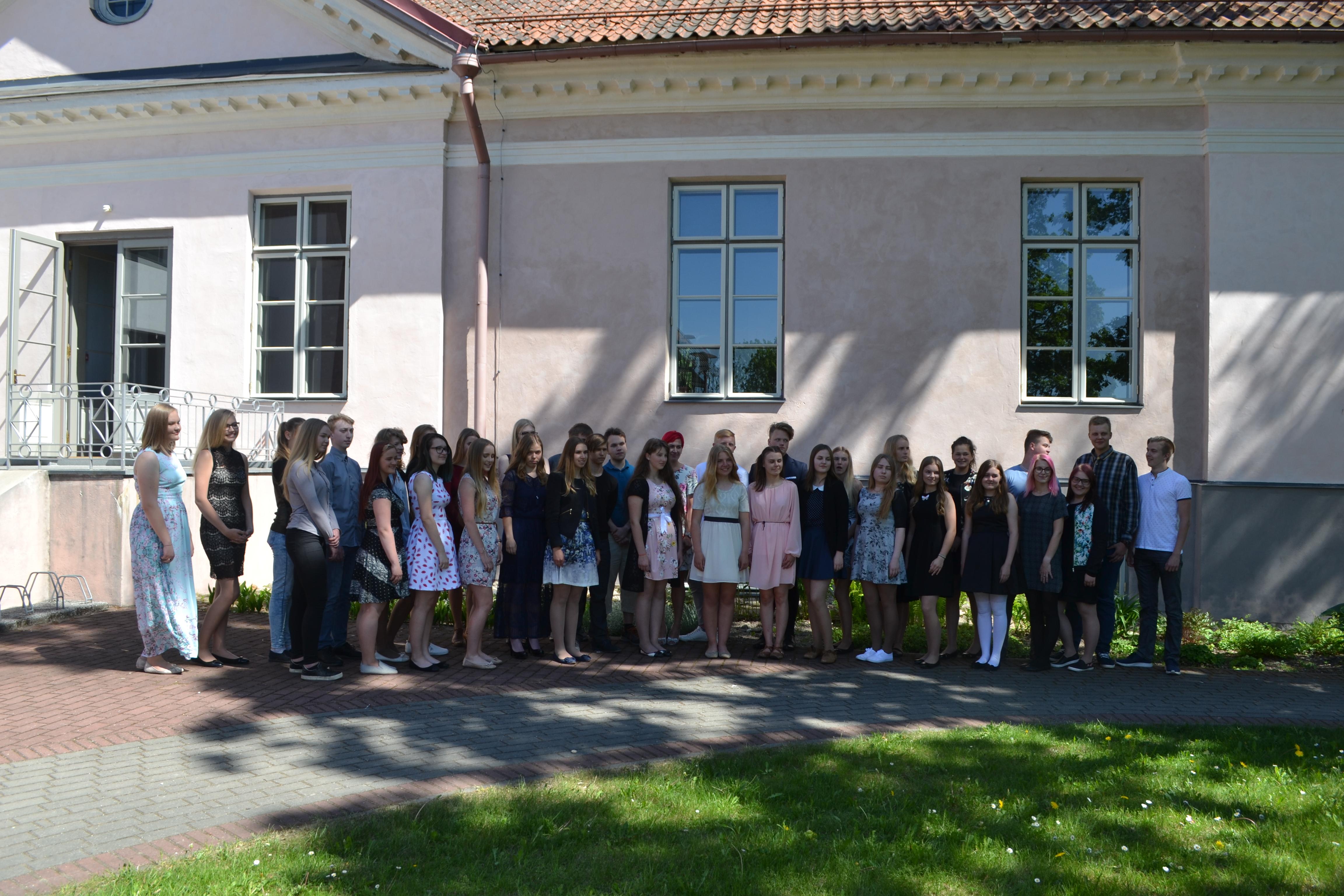 Türi valla koolide tublide õpilaste vastuvõtt 24.05.2018