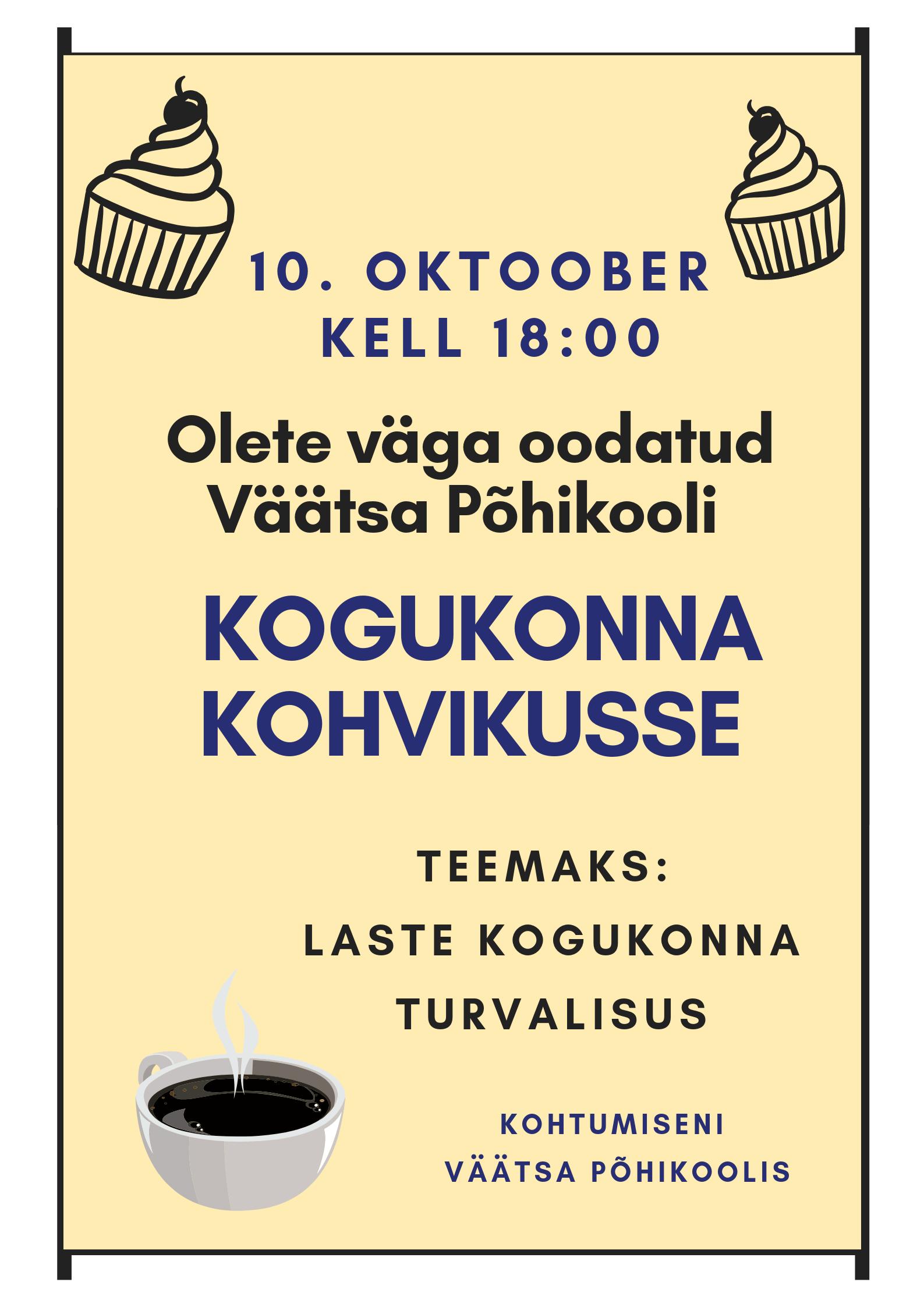 Kogukonna Kohvik VOL I