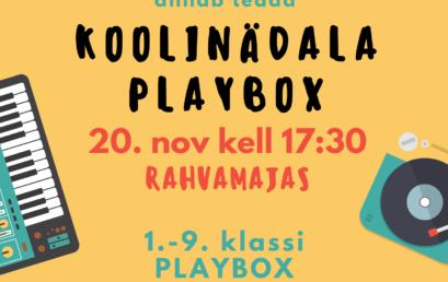 Koolinädala playbox