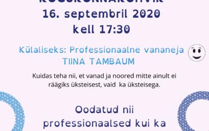 KOGUKONNAKOHVIK 16.09.2020