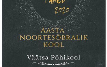2020 aasta noortesõbralik kool nominent