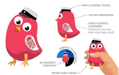 Tartu Ülikooli uue maskoti autor on meie kooli vilistlane